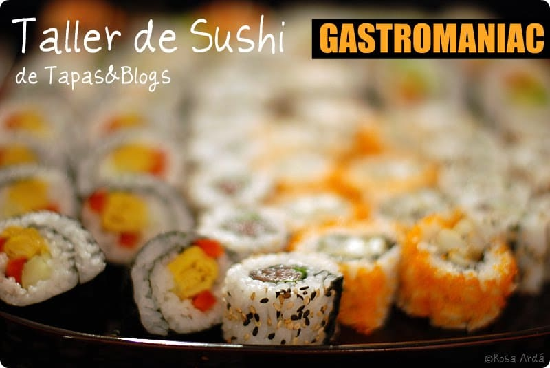 Tapas & Blogs: el Sushi