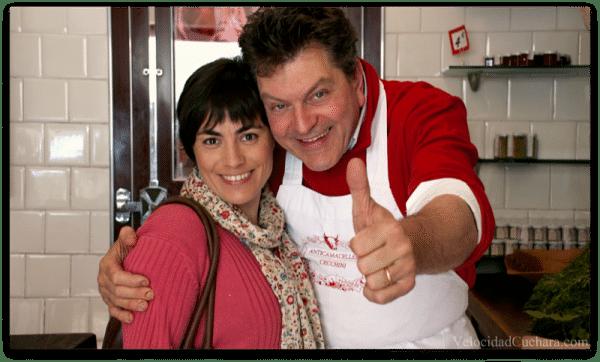 Dario Cecchini y Rosa Ardá en la Toscana, Chianti (Italia)