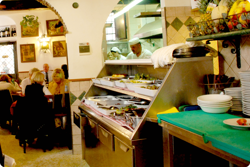 """Roma: Restaurante """"Da Sergio"""""""
