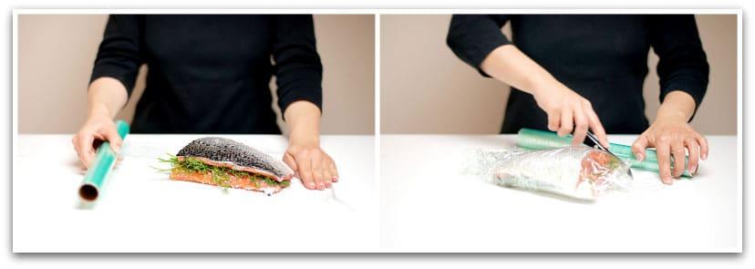 Así marinamos el salmón
