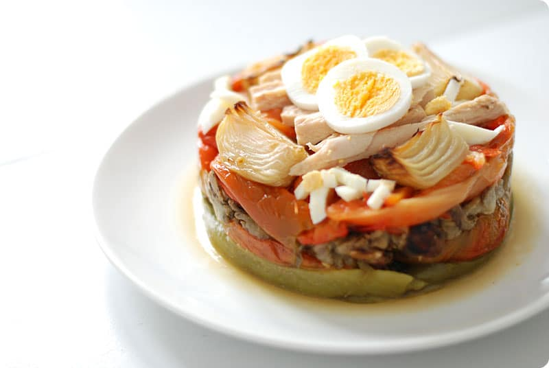 Escalivada, ensalada de verduras al horno