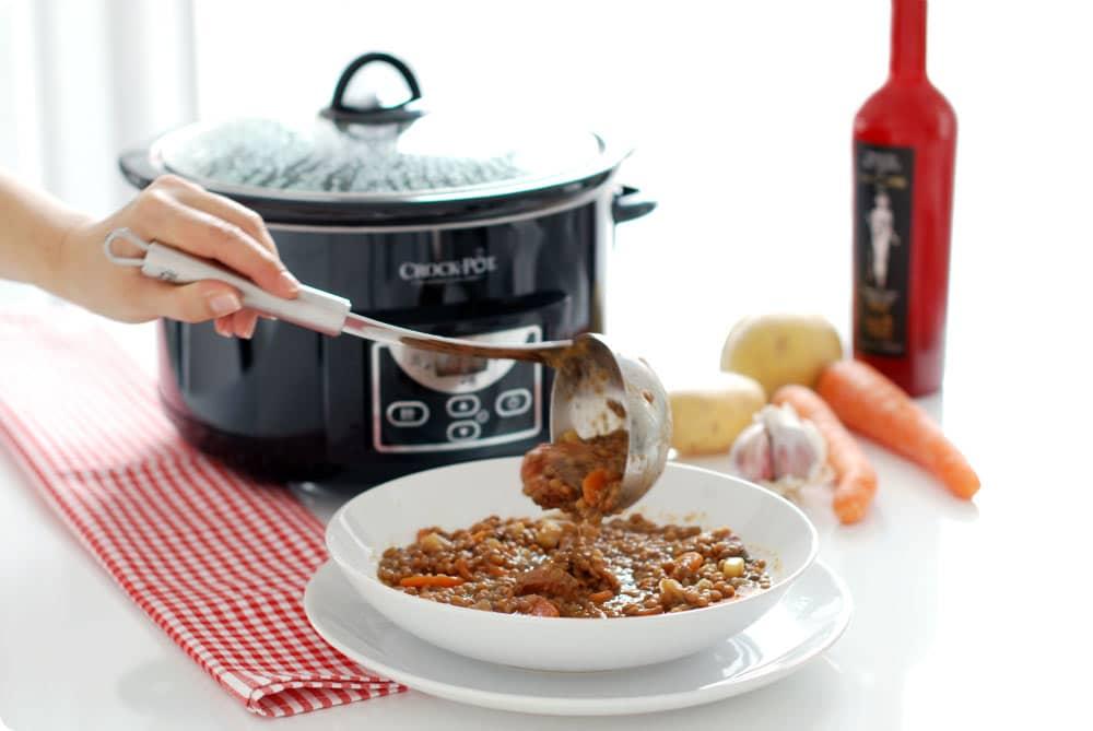 Lentejas en Crock-Pot®