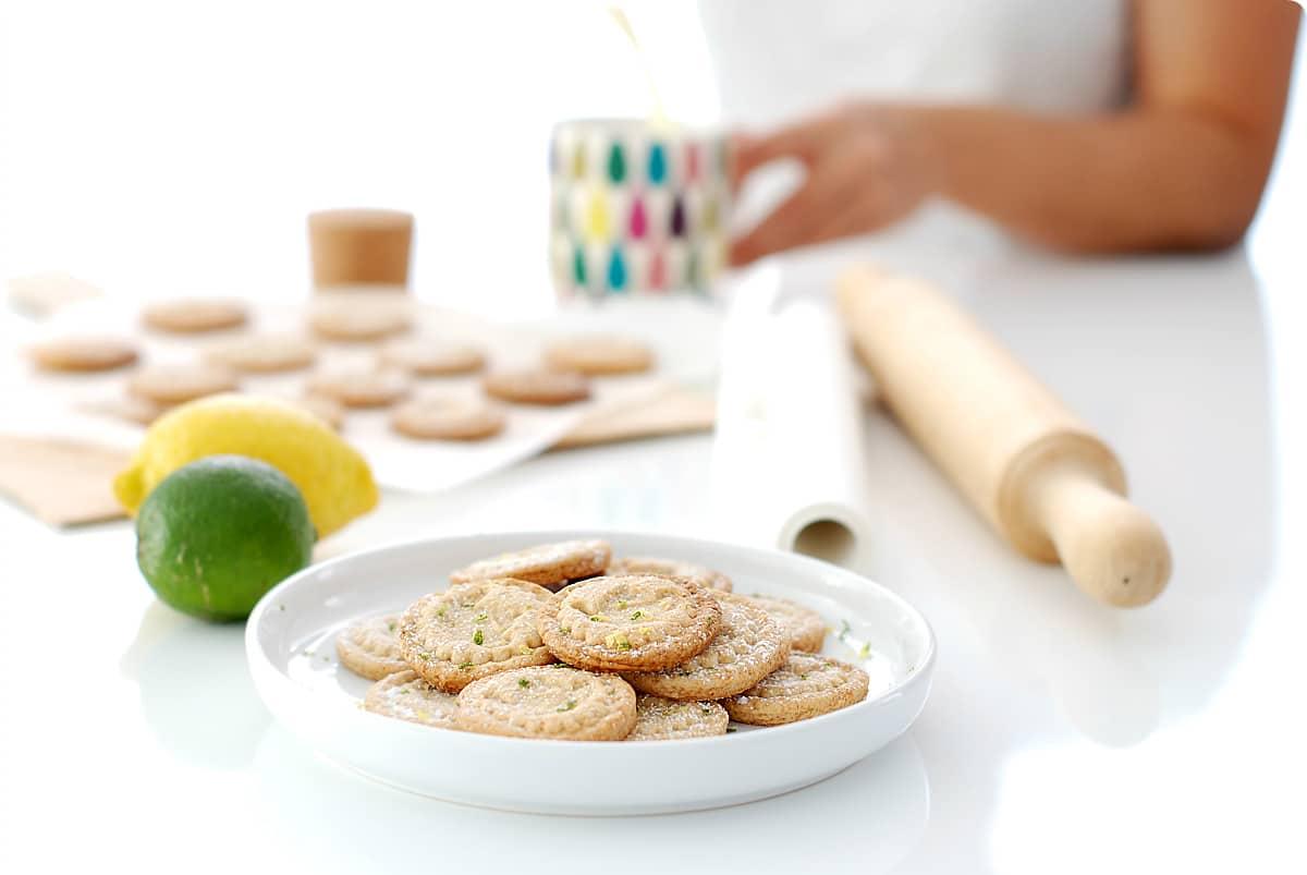 Galletas mantequilla para cocinar con niños