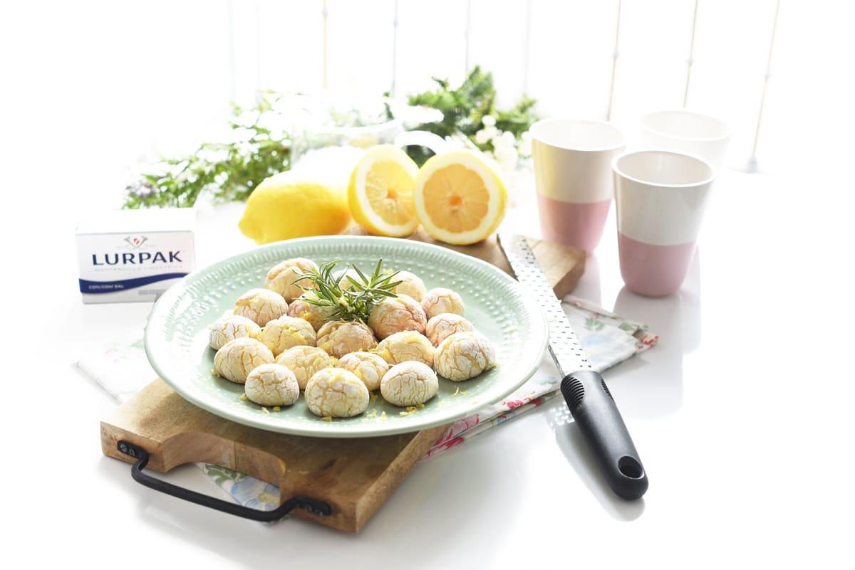Galletas de lemon curd
